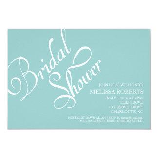 Bridal Shower Invite | Script