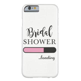 Bridal Shower Loading Fun Party Pink Phone Case