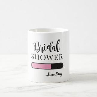 Bridal Shower Loading Fun Party Pink Team Mug