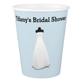Bridal Shower or Engagement Party Paper Cups Paper Cup