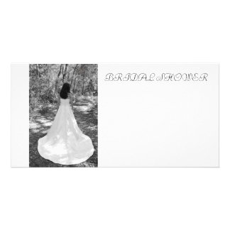 BRIDAL SHOWER PHOTO GREETING CARD