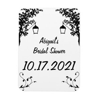 Bridal Shower Reminder or Keepsake Magnet