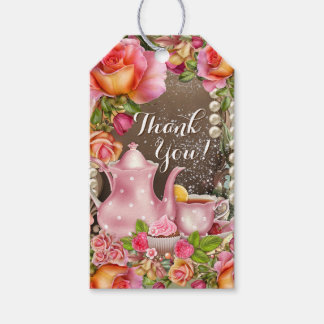 Bridal Shower Tea Party Gift Tags