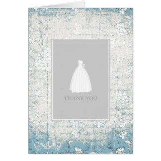 Bridal Shower Thank You Cards {Blue}