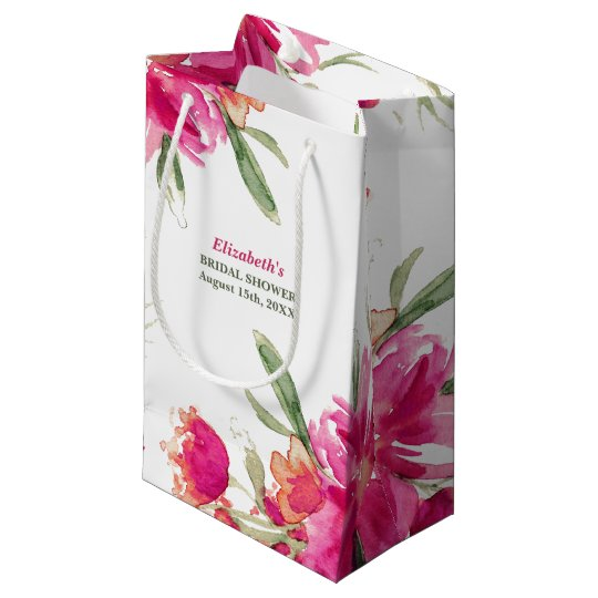Bridal Shower Thank You Hostess Gift Bags