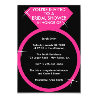 Bridal Shower (Today's Best Award) Card
