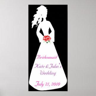 Bridal Silhouette II Bridesmaid Posters