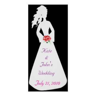 Bridal Silhouette II Posters