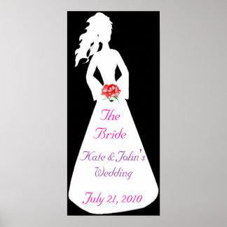 Bridal Silhouette II The Bride Poster