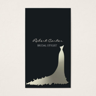 Bridal Stylist Fashion House Dress Salon Business Card