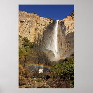 Bridal Veil Fall in Yosemite National Park Poster