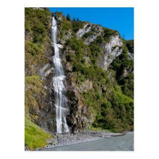Bridal Veil Falls, Alaska Postcard