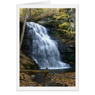 Bridal Veil Falls Card