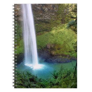 Bridal Veil Falls NZ Notebook