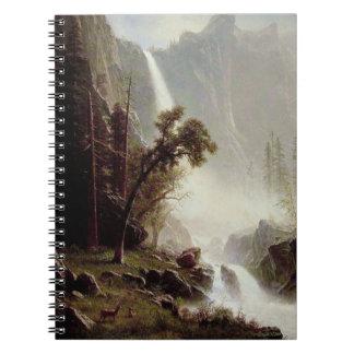 Bridal Veil Falls Yosemite Notebook