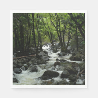 Bridalveil Creek in Yosemite National Park Paper Napkin