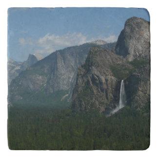 Bridalveil Falls and Half Dome at Yosemite Trivet