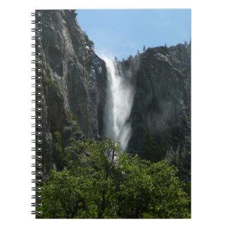 Bridalveil Falls at Yosemite National Park Notebook