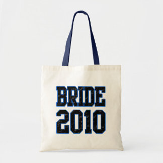 Bride 2010 tote bag
