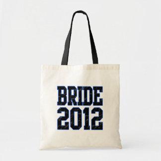 Bride 2012 tote bag