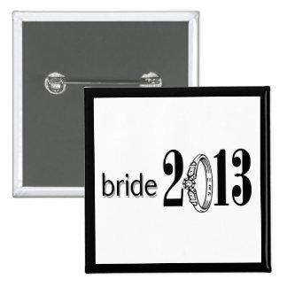 Bride 2013 Ring Pins