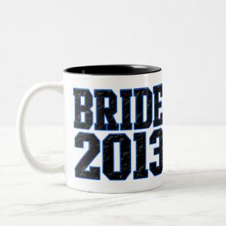 Bride 2013 Two-Tone coffee mug