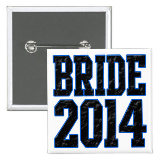 Bride 2014 pinback buttons