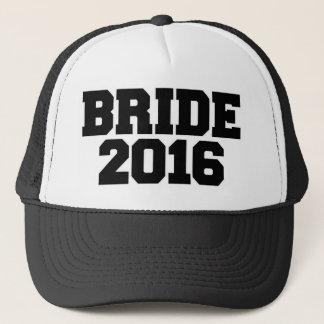 Bride 2016 trucker hat