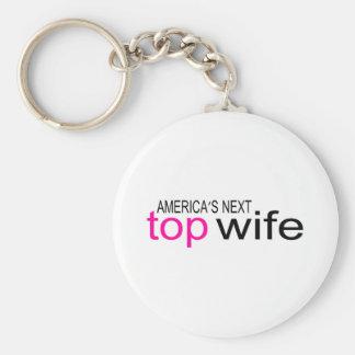 Bride Americas Next Top Wife Keychains