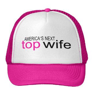 Bride Americas Next Top Wife Trucker Hat