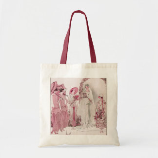 Bride and attendents tote bag