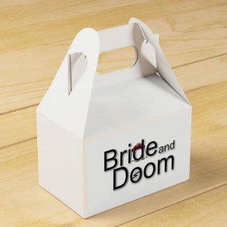 Bride and Doom gift boxes