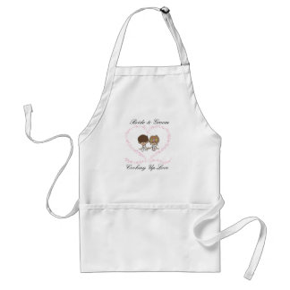 Bride and Groom-Cooking Up Love Standard Apron