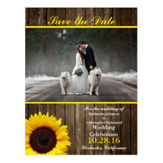 Bride and groom - couple christmas - white dogs postcard