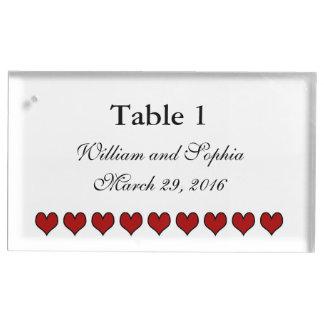 Bride and Groom Gear   Wedding Table Card Holder