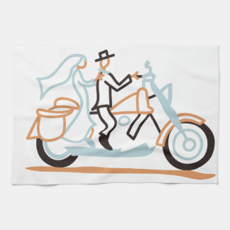 Bride and Groom Kitchen Towel