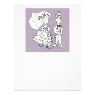Bride and Groom Letterhead
