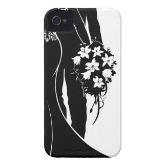 Bride and Groom Wedding Silhouette Case-Mate iPhone 4 Case