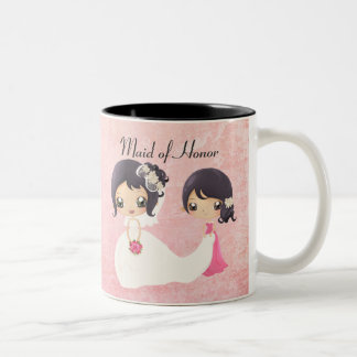 Bride and Maid of Honor Two-Tone Mug