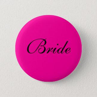 Bride Badge 2 Inch Round Button