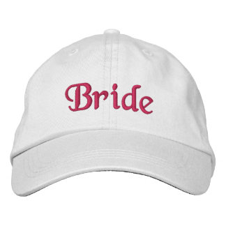 Bride baseball hat embroidered baseball caps