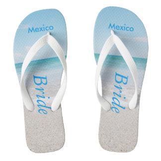 Bride Beach Sandals Flip Flops