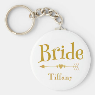 Bride Beautiful Wedding Memento Keychain