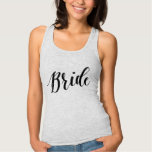Bride Black Script Shirt