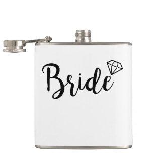 Bride Bling Diamond Hip Flask