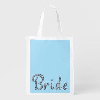 Bride bling reusable bag