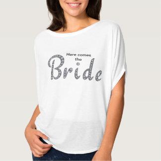 Bride bling shirt