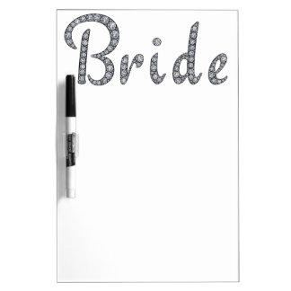 Bride bling whiteboard