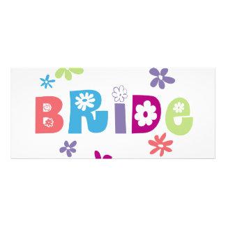 Bride Bookmark Customized Rack Card
