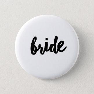 Bride (Bridal Party Set) 2 Inch Round Button